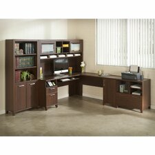 Achieve 4-Piece L-Shape Desk Office Suite