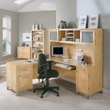 """Somerset 71"""" W Desk with Optional Hutch"""