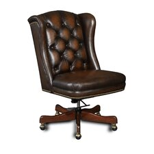 Tilt Swivel Leather Conference Chair