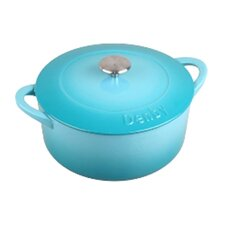 Cook and Dine 4.23-qt. Round Casserole