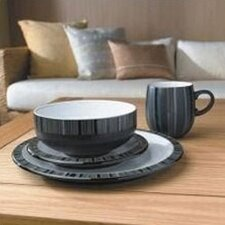 Jet Stripes Dinnerware Collection