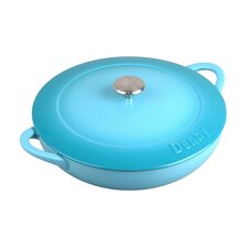Cook and Dine 4.02-qt. Round Casserole