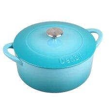 Cook and Dine 3.17-qt. Round Casserole