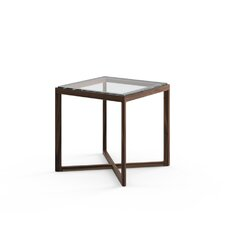 "Marc Krusin 22"" End Table in American Walnut"