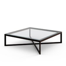 "Marc Krusin 14"" Coffee Table in Ebonized Oak"
