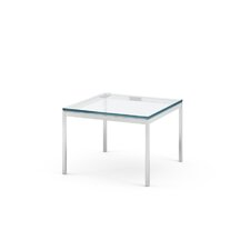 Florence Knoll Square Coffee Table in Polished Chrome