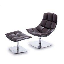 Jehs+Laub Pedestal Base Lounge Chair