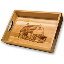 Chef Locke 2 Piece Country Serving Tray Set