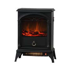 Vernon 120 Square Foot Electric Fireplace Stove