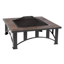 Tuscan Tile Fire Pit Table