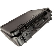 "Attache Cases: 17 3/8""L x 12 3/8"" W x 5""H (inside)"