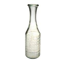 Lattice 16-inch Clear Valencia Lattice Vase