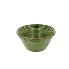 6.5-inch Cilantro Green Stoneware Round Cereal Bowls (Set of 4)