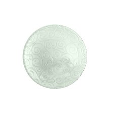 Mediterranean Wave 8-inch Ice Clear Salad Plate (Set of 4)