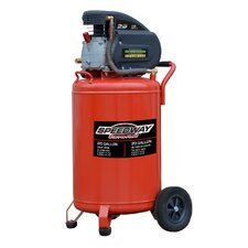 20 Gallon 2 HP Vertical Upright Air Compressor with Wheels
