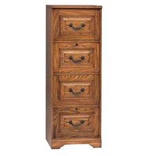 Heritage 4-Drawer File Cabinet