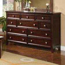 Del Mar 10 Drawer Dresser