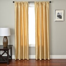 Ariel Circle Curtain Panel in Soft Gold