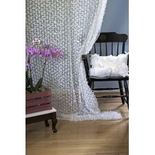 Crazy Loops Beads Bowe Curtain Panel (Set of 2)