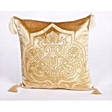 Tudor Velvet Throw Pillow