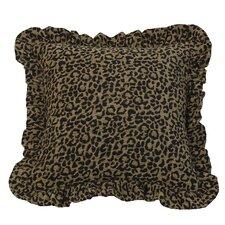 San Angelo Cheetah Print Throw Pillow