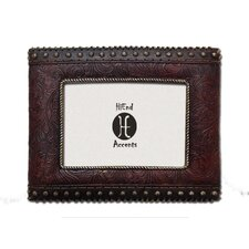 Tooled Leather Picture Frame (Set of 2)