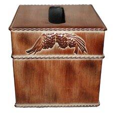 Pine Cone Tissue Box