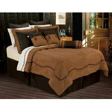Barbwire Embroidered Comforter Set