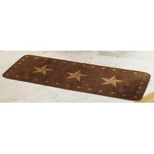 Star Dark Chocolate Area Rug