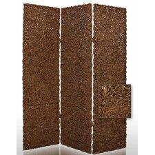 "72"" x 60"" Root Decorative 3 Panel Room Divider"