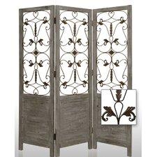 "72"" x 60"" Hampton Decorative 3 Panel Room Divider"