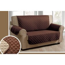 Reversible Loveseat Slipcover