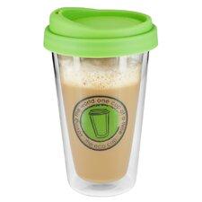 12 oz. Eco Glass Coffee Cup
