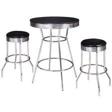 Remington 3 Piece Pub Table Set