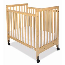 SafetyCraft Compact Size Slatted Crib with Mattress