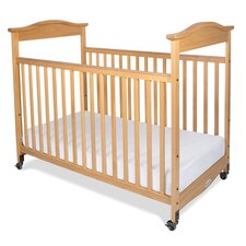 Biltmore Safereach Fixed Side Clearview Compact Convertible Crib with Mattress