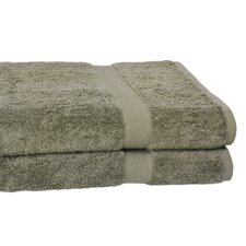 All American Line 100% Supima Cotton Oversized Bath Towel (Set of 2)