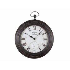 Metal Pocket Wall Clock