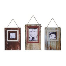 3 Piece MDF Wall Picture Frame Set