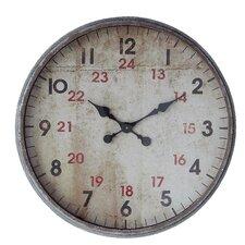 "Oversized 24"" Wall Clock"