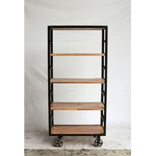 """Turn of the Century 67"""" Accent Shelves"""