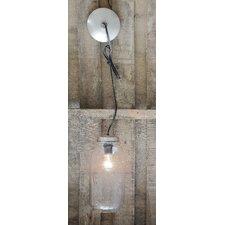 Mason Jar 1 Light Hanging Lantern