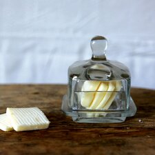 Bistro Glass Butter Dish