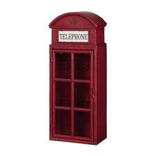 """Metal """"Telephone"""" 1 Door Wall Cabinet"""