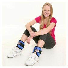 5 lbs Adjustable Ankle Weights (Set of 2)