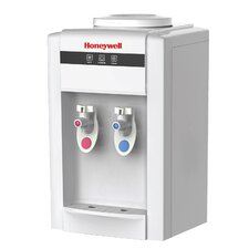 Top Loading Hot and Cold Countertop Water Cooler in White