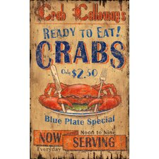 Crab Calloway Vintage Advertisement Plaque