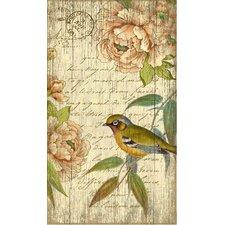 Suzanne Nicoll Right Bird Graphic Art Plaque