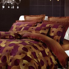 Dolce Mela Spicy Mix 6 Piece Duvet Cover Set