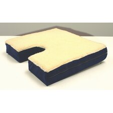 Coccyx Gel Seat Cushion with Fleece Top